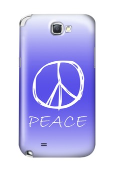 Peace Sign Hard Case for Samsung Galaxy Note 2