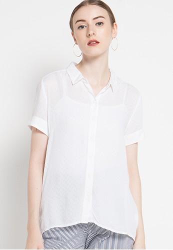 WHITEMODE white Mikaela Blouse WH193AA89YAKID_1
