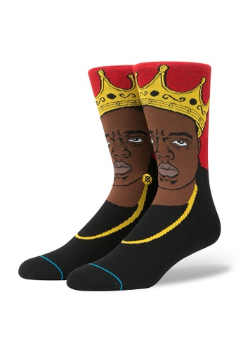 STANCE red STANCE Socks Red Notorious Big Large 3AC05AAF5A38EAGS_1