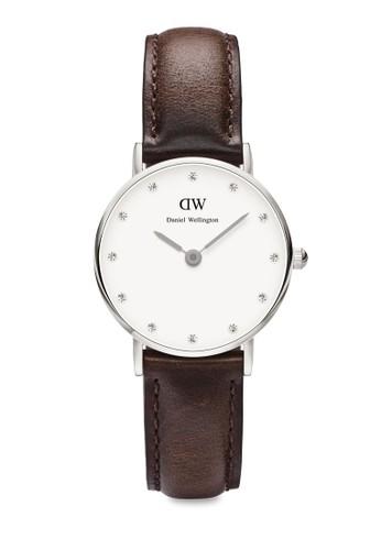 Classy Bristol-Watch Silver 26mm, 錶類, 飾esprit台灣網頁品配件