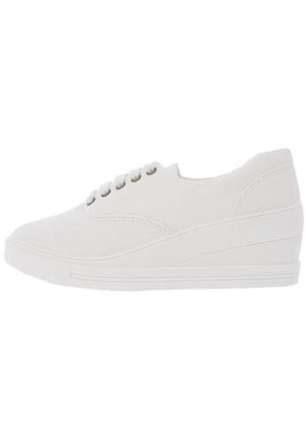Maxstar 7H 5 Holes Lace Up Platform Fashion Sneakers US Women Size MA168SH90DWVHK_1