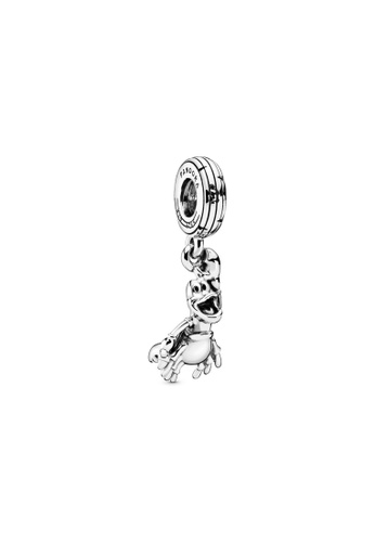 PANDORA silver Pandora x Disney The Little Mermaid Sebastian Dangle Charm ACD6CAC44885F2GS_1