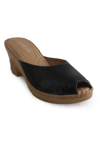 CLARETTE black Clarette Sandal Katheryn Black CL076SH25CLMID_1
