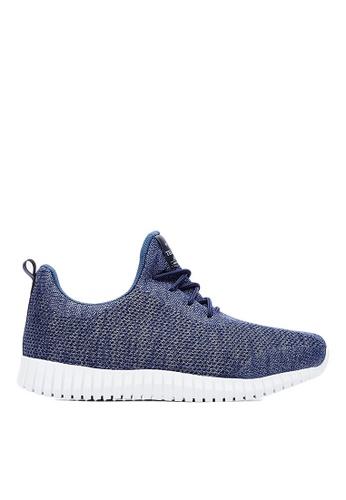 Life8 blue Sport Mixed Shose Sneakers-09653-Classic Blue LI283SH0GOHTSG_1