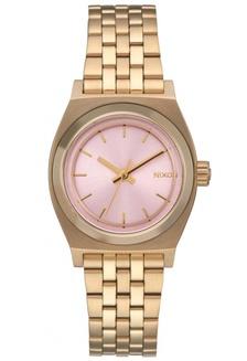 a525d8514810c Nixon - Small Time Teller - Light Gold Pink Watch NI855AC32EKTSG 1