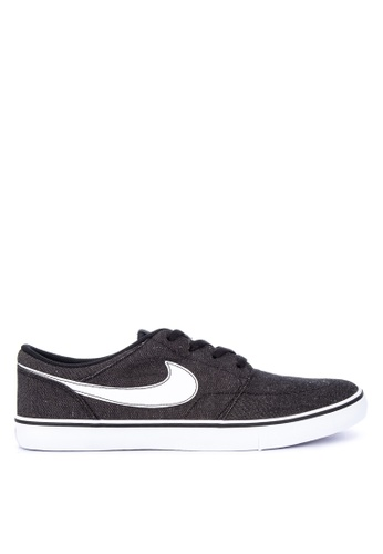 sports shoes 9ebd0 fde66 Nike black Mens Nike Sb Solarsoft Portmore Ii Canvas Premium Skateboarding  Shoes 70E01SH8C46E95GS1