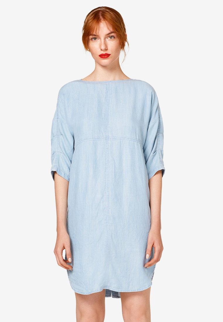 Midi Midi ESPRIT ESPRIT Denim Blue Midi Denim Blue Dress Dress Denim n0HqWnBAw6
