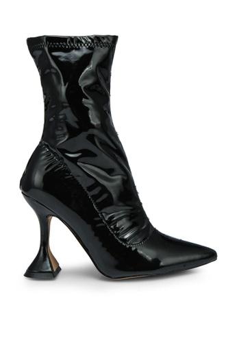 EGO black Flore Black Ankle Boots 2E3B3SHF59B419GS_1