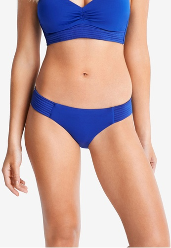Seafolly blue Seafolly Quilted Hipster Bikini Bottom CBCCCUS8034CAAGS_1
