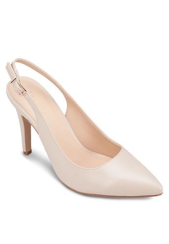 尖頭zalora鞋子評價繞踝高跟鞋, 女鞋, 厚底高跟鞋