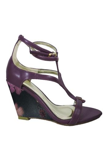 Jacque purple Amelia Purple Wedge JA262SH85MAGMY_1