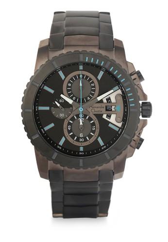 Alexandre Christie grey Alexandre Christie Jam Tangan Pria - Grey - Stainless Steel - 6455 Grey Man AL709AC0W4LCID_1