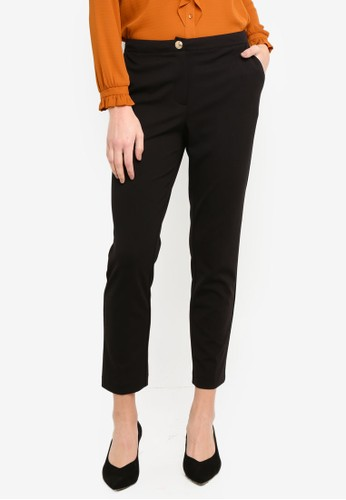 OVS black Stretch Trousers EE1C7AA27CB4B1GS_1