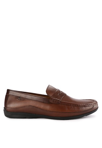 Playboy brown Buddy Loafer 0A72BSH0C57203GS_1