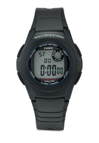Casio black Casio Watch F-200W-1ASDF 3EE1AAC653639FGS_1