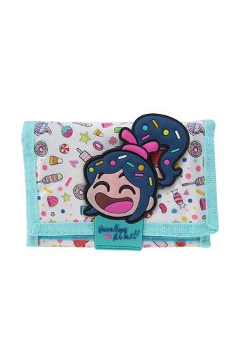 DISNEY Princess Disney Wreck-It Ralph Tri-Fold Wallet F054BKCE7927AAGS_1