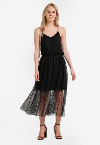 Something Borrowed black Cami Tutu Mesh Dress 9CCE1ZZ26BFCB7GS_1