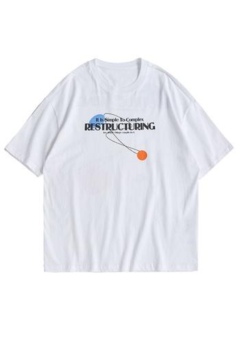 Twenty Eight Shoes Trend Printed Short T-shirt 1538S21 B5DB0AA00BFBE8GS_1