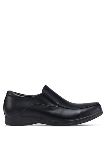 Bata black Slide-On Dress Shoes 60686SH7F6F8FFGS_1