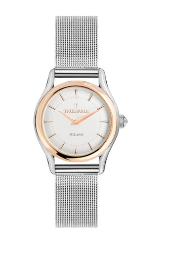 Trussardi silver Trussardi T-Light Silver Ladies Watches R2453127503 A60A1ACB56A8CDGS_1