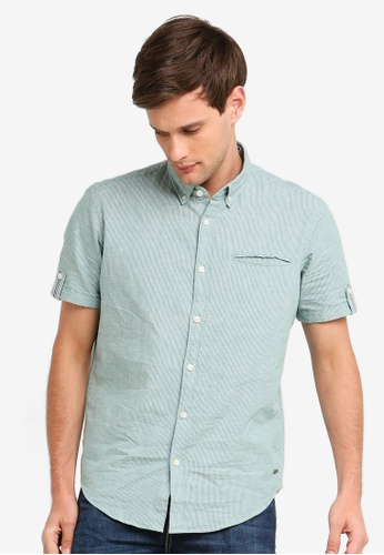 fe8af84e0d89 Buy ESPRIT Woven Short Sleeve Shirt Online on ZALORA Singapore