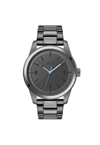 Hugo Boss grey HUGO Create Grey Men's Watch (1530119) B58BFACCF268C2GS_1