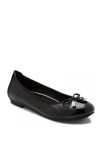 Vionic black Spark Minna Ballet Women's Casual Shoes D226CSHFA8D16AGS_1