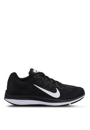 Nike black Nike Air Zoom Winflo 5 Running Shoes 7D4CESHF49690CGS_1