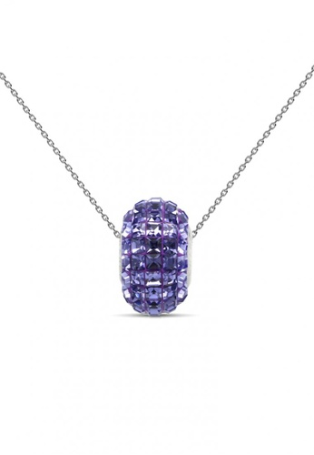 Her Jewellery purple Her Jewellery Disco Ball Pendant (Purple) with Necklace Chain with 18K Gold Plated 6CBE4ACB49A5DCGS_1