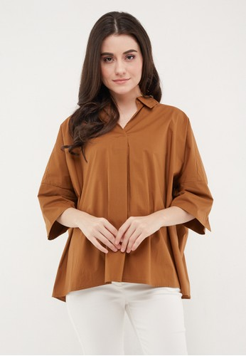 Neumor brown Bouton Manches 3F748AA0918514GS_1
