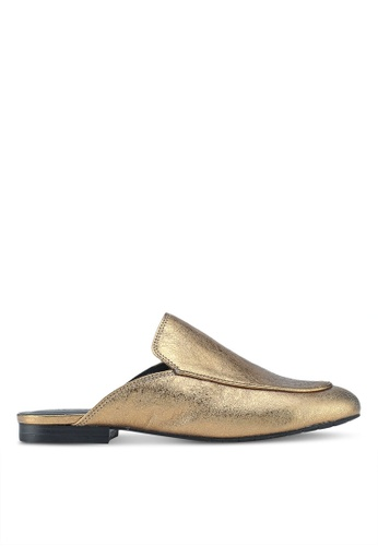 Kenneth Cole gold Wallice Slip Ons 98E43SH8270C03GS_1
