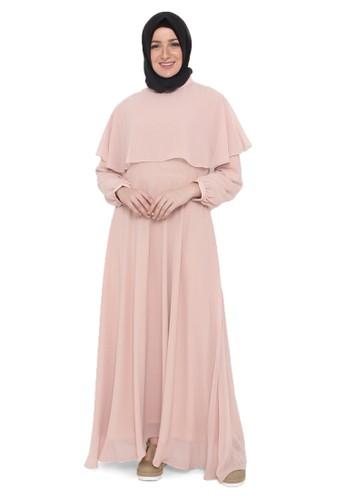 Java Seven Muslimwear pink Neylan 016 77307AADF628B9GS_1