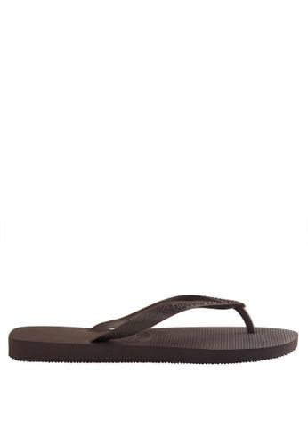 Havaianas brown Top Flip Flops 4AD7CSHF355246GS_1
