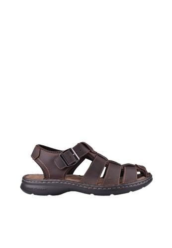 Hush Puppies brown Hush Puppies NEIL In  Dark Brown 80EBBSHCC6550EGS_1