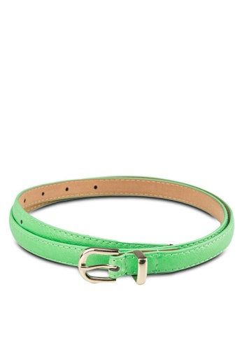 Zolace green and gold Essentially Ready Belt ZO350AC50PJHMY_1