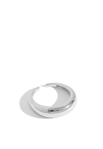 HAPPY FRIDAYS 925純銀弧形光面戒指 AR-JZY136 9862FAC15456B1GS_1