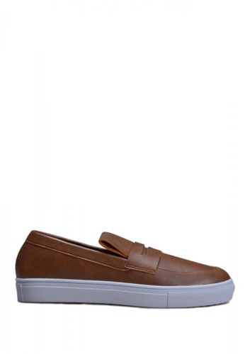 Vencedor brown Vencedor Diego Slip On VE205SH66IVLID_1