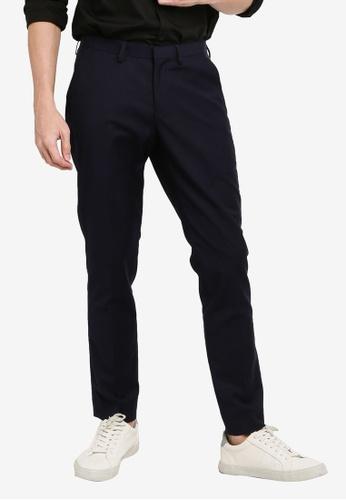 Electro Denim Lab blue Tailored Formal Pants 921DBAACBFA18AGS_1
