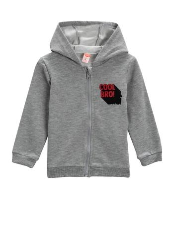 KOTON grey Hoodie For Baby Boys 0B9D2KA0940730GS_1