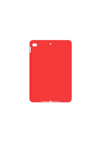 MobileHub red iPad Mini 5 (2019) 5TH GEN. Silicone Cover Soft Case Rubberized Finish 21E5AACDFBF8C4GS_1