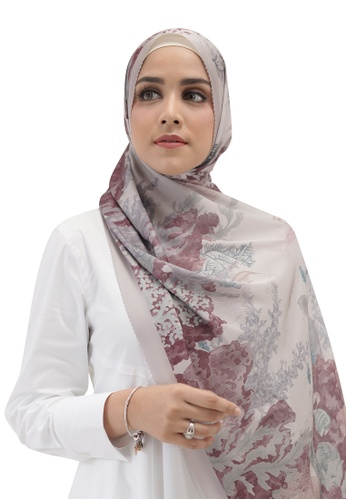 Buttonscarves grey Buttonscarves Song of the Sea Satin Shawl Algae 11DB6AAD21EE74GS_1