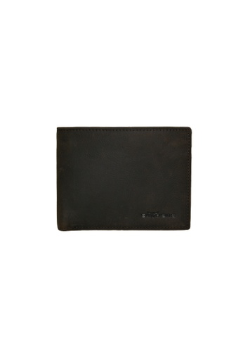 EXTREME brown Extreme Genuine Leather Short Wallet with Mid Flap (12 Slots) C1616AC71014CBGS_1