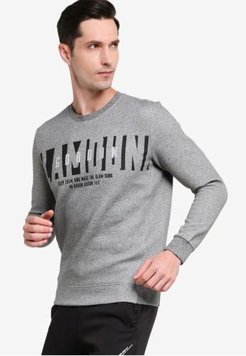 361° grey Basketball Series Turtleneck Sweater 9351FAA4CC0A19GS_1