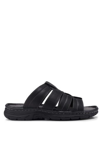 Bata 黑色 Slide-On Sandals BDCABSH36D4CA6GS_1