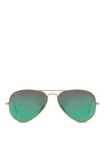 Ray-Ban Aviator Large Metal RB3025 Sunglasses RA370GL38SAJSG_1