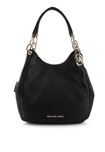 MICHAEL KORS black Lillie L Shoulder Tote Bag (zt) 73A82AC32D0950GS_1