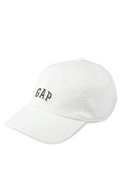 49dc2d406ce GAP grey Twill Logo Cap C6B5EAC74B54FAGS 1