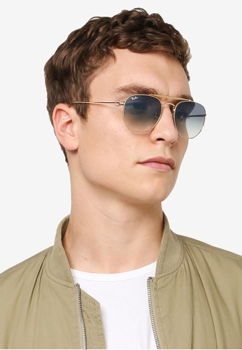 eb4b9c39ad Buy Ray-Ban Marshal RB3648 Polarized Aviator Sunnies Online