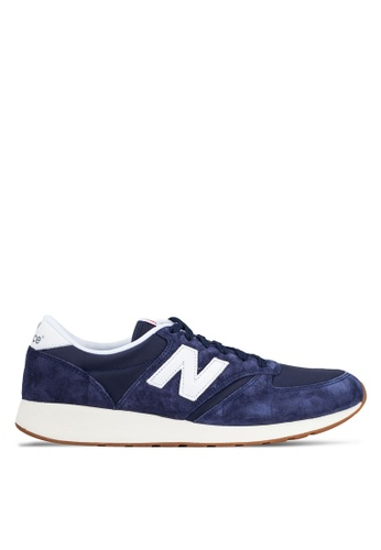 New Balance navy 70s 420S Sneakers NE323SH0RFQYMY_1