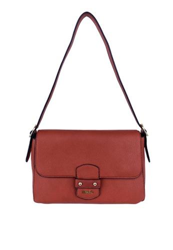 Mel&Co brown Faux Leather Shoulder Bag 6B57AACB515BAFGS_1